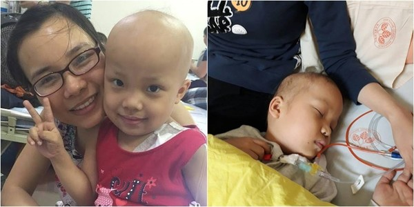 Tâm sự của bố mẹ với con gái 5 tuổi bị ung thư máu