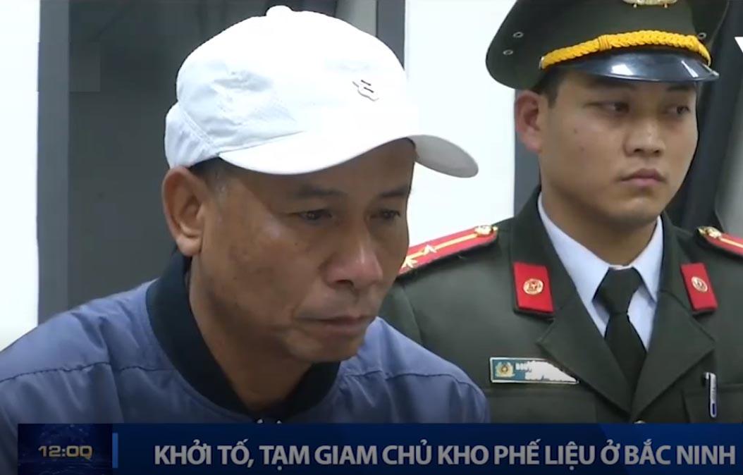 Chủ kho phế liệu ở Bắc Ninh khai mua 7 tấn đầu đạn