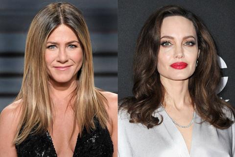 Angelina Jolie, Jennifer Aniston cùng xuất hiện tại Quả cầu vàng 2018