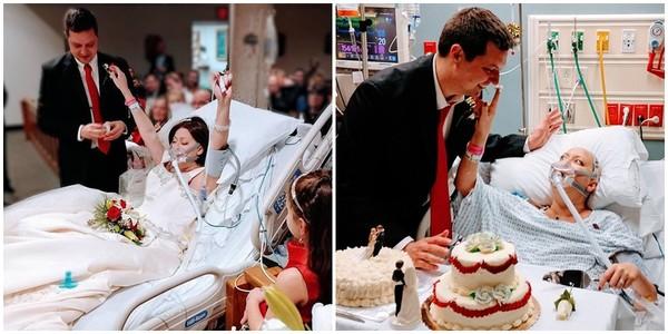 Người phụ nữ được thỏa nguyện ước mơ làm đám cưới trước khi chết