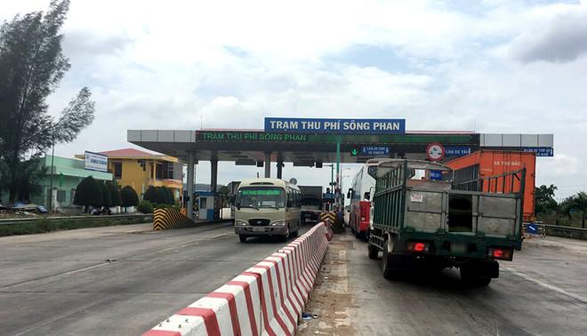 BOT Sông Phan xin giảm giá thu phí