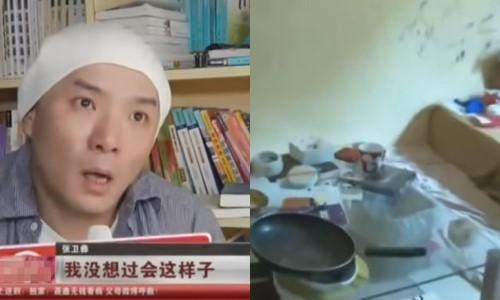 Em trai Trương Vệ Kiện sống ở khu ổ chuột, đói ăn trước khi đột tử