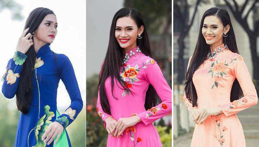 Hoa khôi Suri Trương rực rỡ sắc xuân với Áo dài Tommy Nguyễn