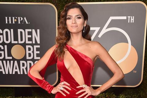 Những thảm họa thời trang trên thảm đỏ Quả cầu vàng 2018