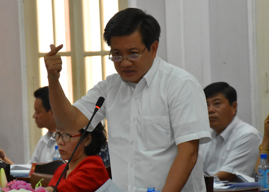UBND TP.HCM chưa nhận được đơn từ chức của ông Đoàn Ngọc Hải
