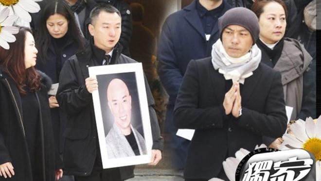 Lễ tang vắng lặng của em trai Trương Vệ Kiện