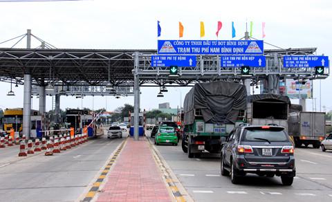 Rà soát mức thu phí các Trạm BOT ở Bình Định