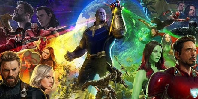 """""""Avengers: Infinity War"""" có thể hội tụ đến 76 nhân vật"""