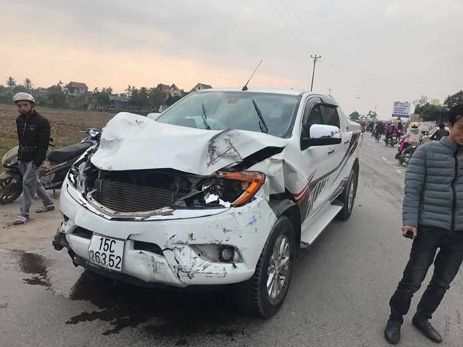 Tài xế có hơi men khi đâm chết 2 nữ sinh đi bộ