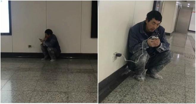 Câu chuyện xúc động về người đàn ông mỗi tối đến ga tàu dùng Wi-Fi