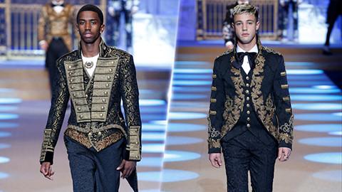 Các gương mặt trẻ tỏa sáng trên sàn thời trang Dolce&Gabbana