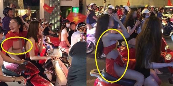 Sốc trước màn cởi áo khoe thân ăn mừng U23 Việt Nam dành chiến thắng