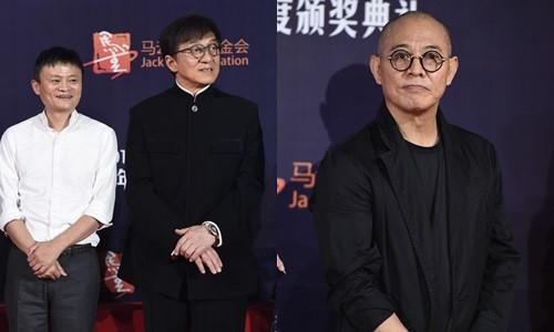 Lý Liên Kiệt và Thành Long né nhau tại sự kiện của Jack Ma