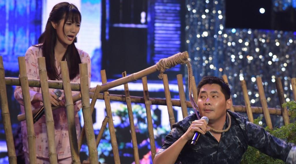 Minh Luân vào vai hư hỏng, cưa cẩm Jang Mi trên sân khấu