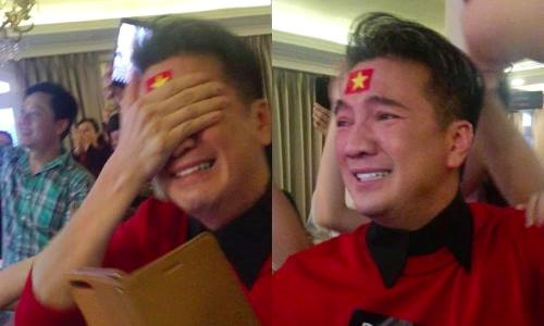 Sao Việt vỡ òa trước chiến thắng phi thường của U23 Việt Nam