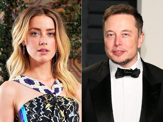 Amber Heard và tỷ phú Elon Musk lại chia tay sau một tháng tái hợp