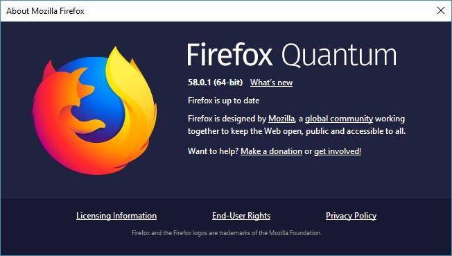 Nếu duyệt web bằng Firefox, hãy nâng cấp ngay lập tức