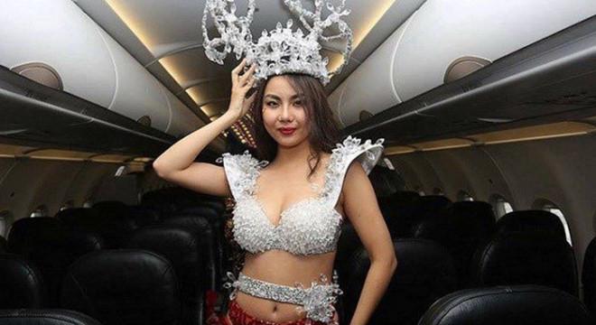 Vietjet xin lỗi Lại Thanh Hương sau vụ mặc bikini đón U23 Việt Nam