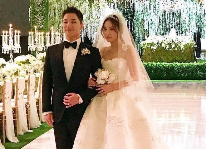 Lễ cưới Taeyang: Bức ảnh hiếm hoi của cô dâu và chú rể