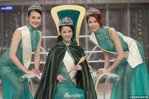 Người đẹp 22 tuổi đăng quang Hoa hậu Quốc tế Trung Quốc