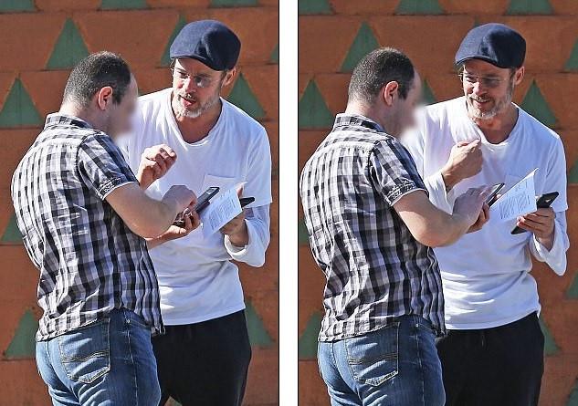 Brad Pitt hành xử trách nhiệm khi gây tai nạn cho người khác