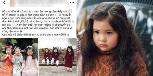 """Bộ ảnh Tết của cô bé """"hờn cả thế giới"""" khiến cộng đồng mạng bị """"đốn gục"""" vì quá yêu"""