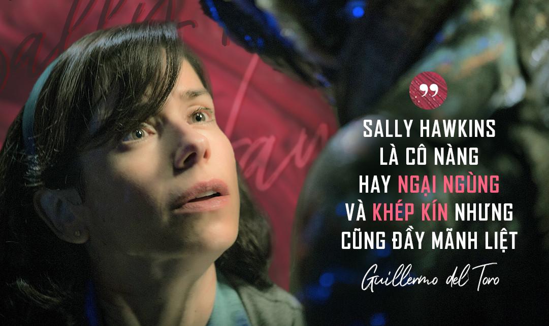 """Sally Hawkins: """"Vịt hóa thiên nga"""" nhờ tài năng diễn xuất đỉnh cao"""
