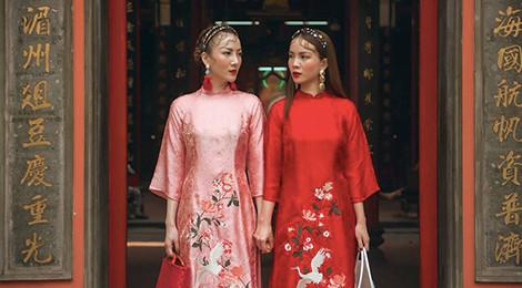 Tranh cãi xoay quanh câu chuyện về tà áo dài năm 2017