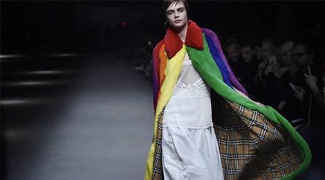 Nhà mốt Burberry ủng hộ người đồng tính tại tuần lễ thời trang London