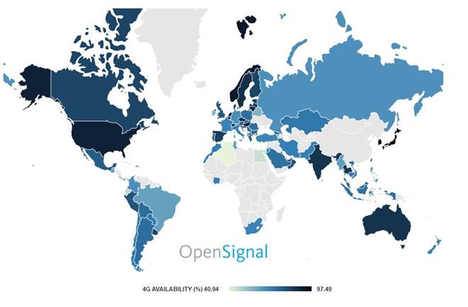 Việt Nam phủ sóng 4G nhiều hơn Pháp, Đức nhưng tốc độ chỉ trung bình