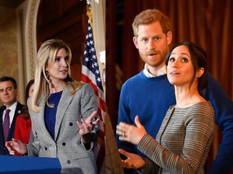 Vợ tương lai của Hoàng tử Harry học hỏi thời trang từ Ivanka Trump?