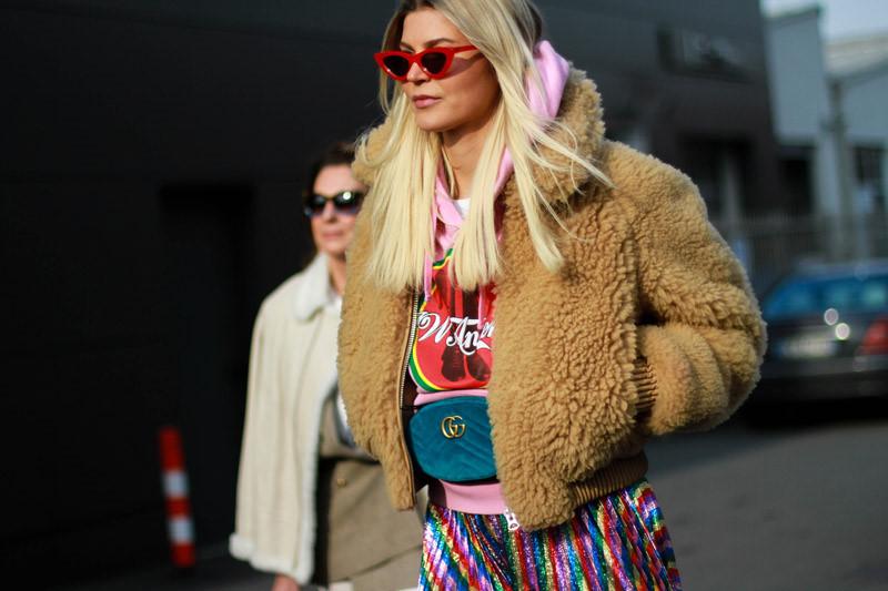 Những bộ cánh sặc sỡ màu sắc tại tuần lễ thời trang Milan