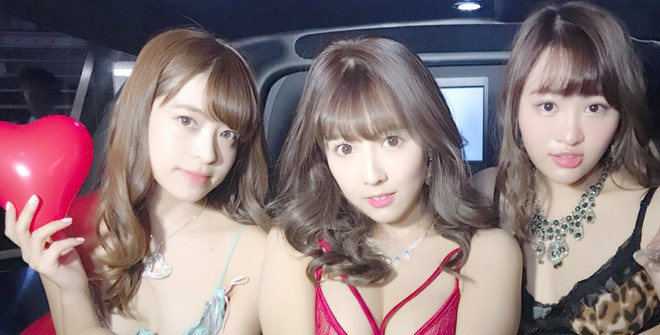 Nhóm nhạc Kpop gồm ba diễn viên khiêu dâm Nhật hủy show đầu tiên