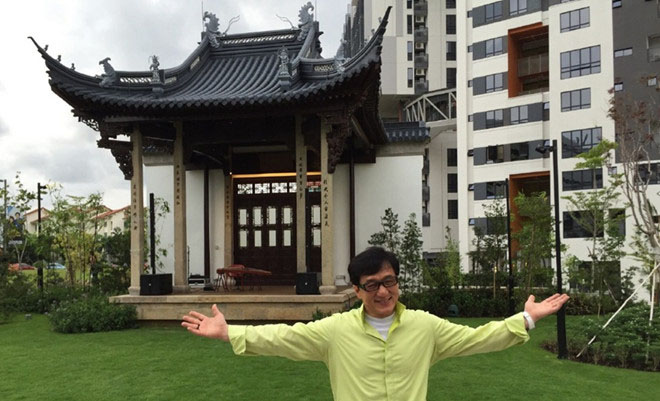Thành Long tuyên bố quyên tặng toàn bộ gia sản nhà kiến trúc cổ