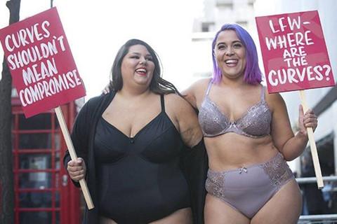 """Người mẫu béo vẫn bị """"ghẻ lạnh"""" trong thế giới thời trang"""