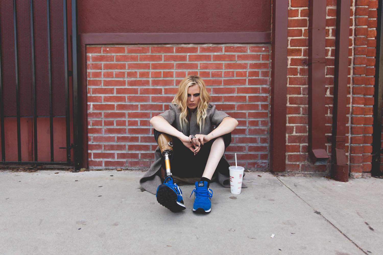 Người mẫu cụt hai chân Lauren Wasser: Từng muốn tự tử
