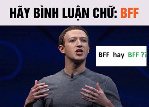 """Dân mạng dính trò lừa bình luận """"BFF"""" để xác minh Facebook"""