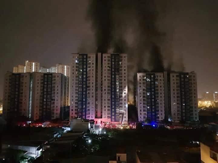 Cháy chung cư cao cấp ở Sài Gòn, 13 người thiệt mạng