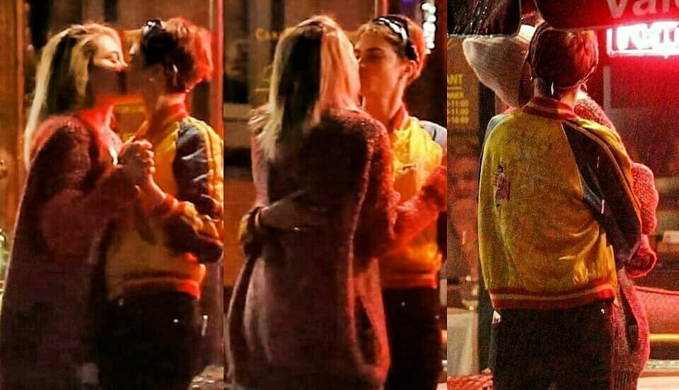 Con gái Michael Jackson hôn say đắm siêu mẫu Cara Delevingne trên phố