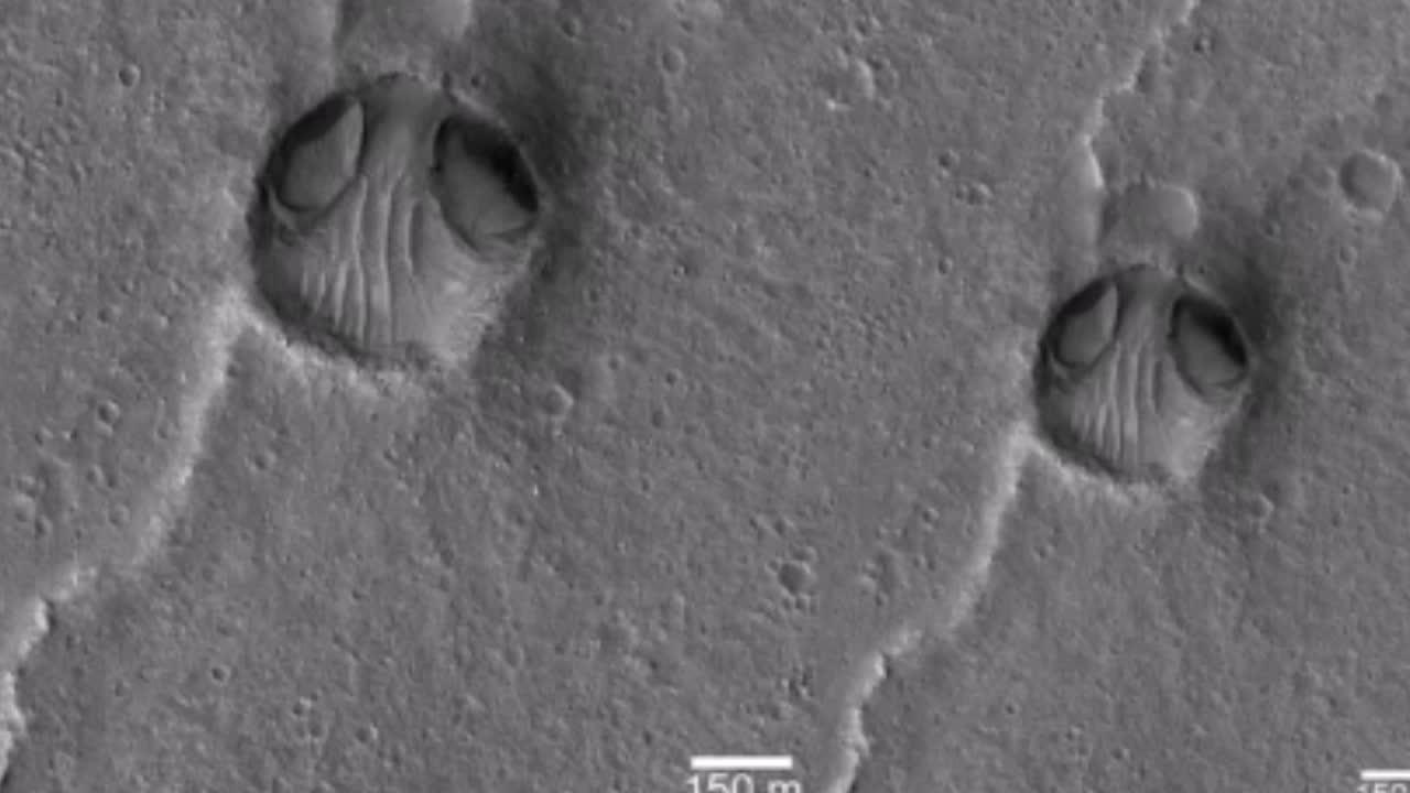 Phát hiện mặt người ngoài hành tinh trên sao Hỏa?