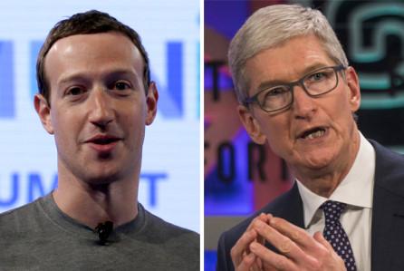 Cuộc chiến giữa Mark Zuckerberg và Tim Cook đã bắt đầu