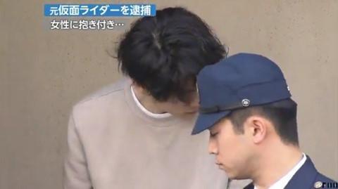 Tài tử Nhật Bản bị bắt sau khi xâm hại 4 phụ nữ trên phố
