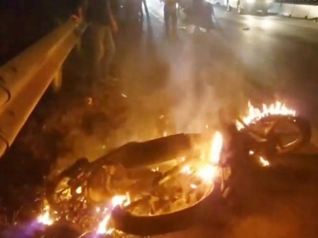 Nghi vấn một CSGT Đồng Nai gây tai nạn rồi bỏ chạy