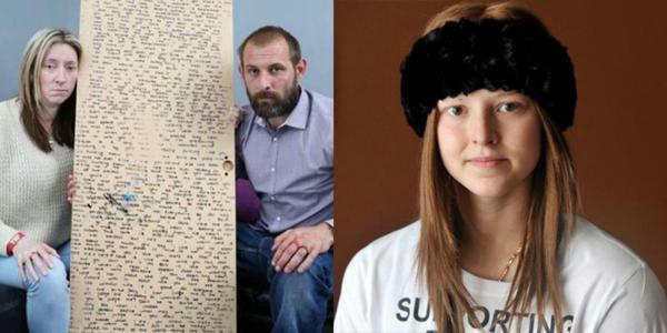 Bức tâm thư giấu sau tấm gương của cô bé 13 tuổi qua đời vì ung thư