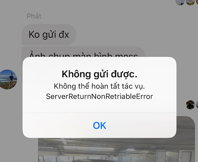 Nhiều người không thể gửi ảnh qua Facebook Messenger tại VN