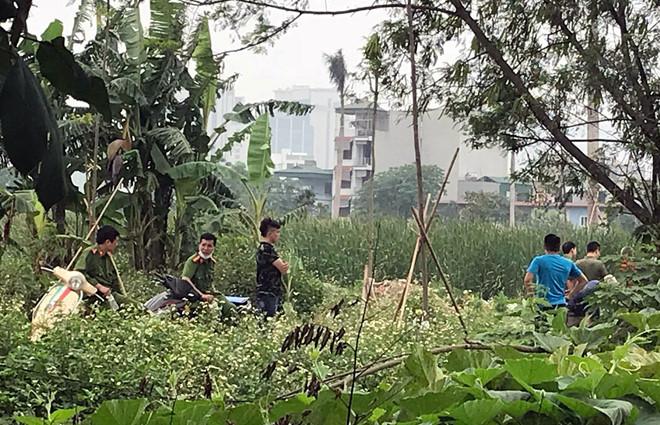 Phát hiện thi thể phân hủy gần sân vận động Mỹ Đình