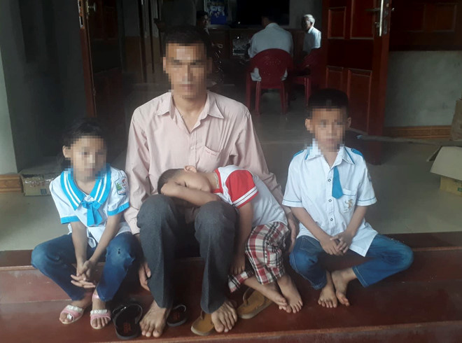 Vợ bỏ chồng cùng 3 con nhỏ theo Hội thánh Đức chúa trời