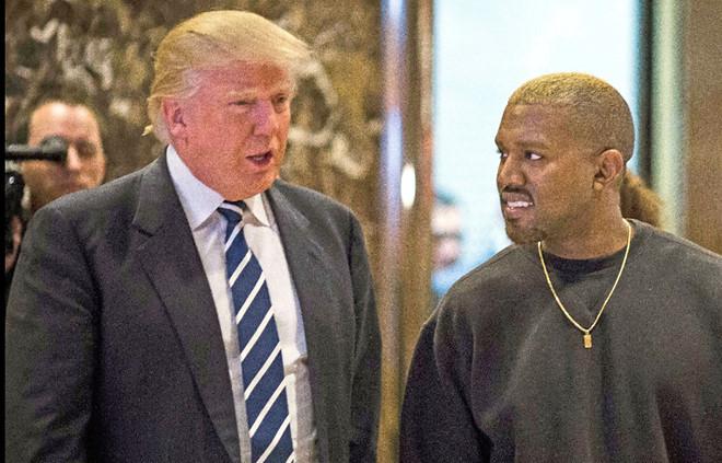 """Kanye West mất gần 10 triệu người theo dõi khi gọi Trump là """"anh em"""""""