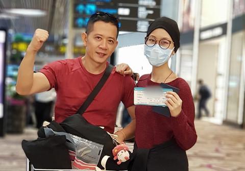 Con gái đạo diễn Đỗ Đức Thành về nhà sau 7 tháng chiến đấu với ung thư