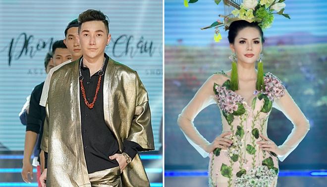 """Siêu mẫu Nam Phong cùng Á hậu Kim Nguyên giữ vị trí """"đinh"""" của Show Phong Cách Châu Á"""